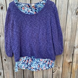 LUCKY BRAND size M sweater